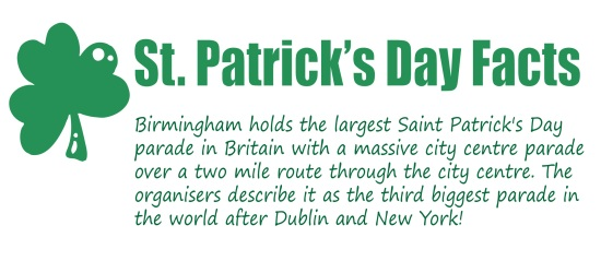 brimingham st patricks day festival Irish