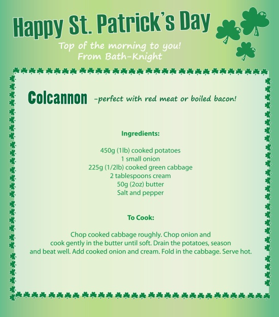 colcannon st patricks day recipe
