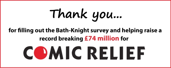 Comic Relief Record Breaking 74 million raised