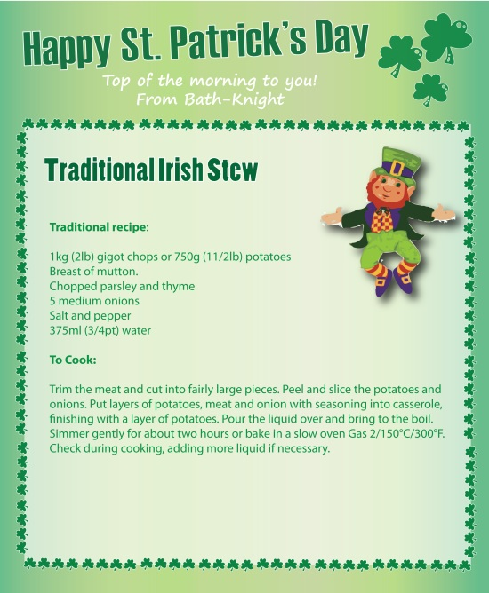 Traditional Irish Stew St Patricks Day Recipes