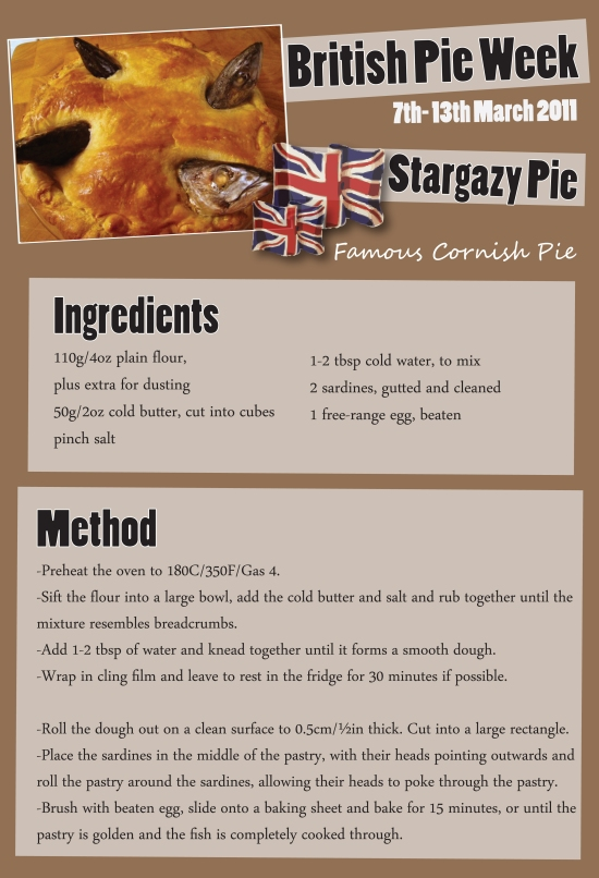 British Pie Week Recipes Stargazy Pie