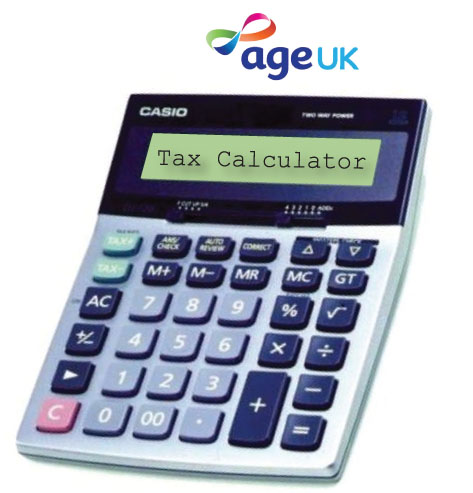 Age UK's Tax Calculator