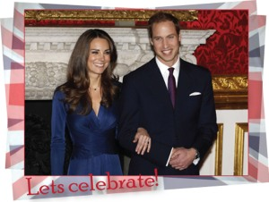 Prince william and Kate Middleton Lets celebrate Royal Wedding