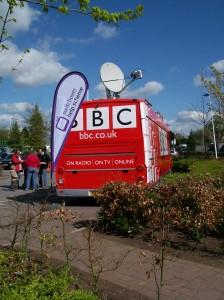 BBC Radio Stoke Trentham Gardens Digital Switchover
