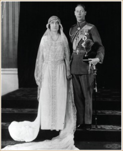 Queen mother King George VI wedding