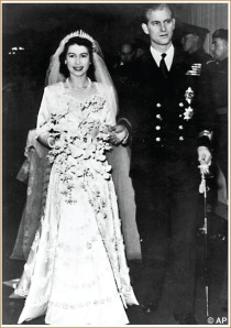 Queen Elizabeth & Prince Phillip Wedding
