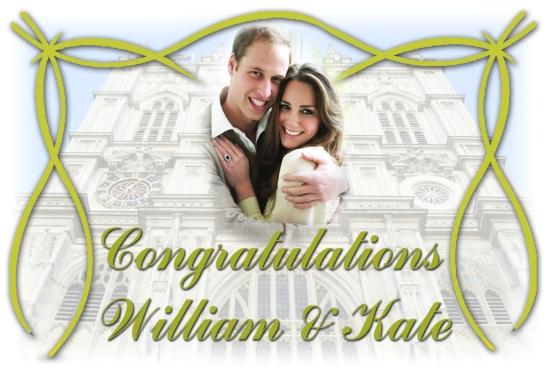 royal wedding congratulations