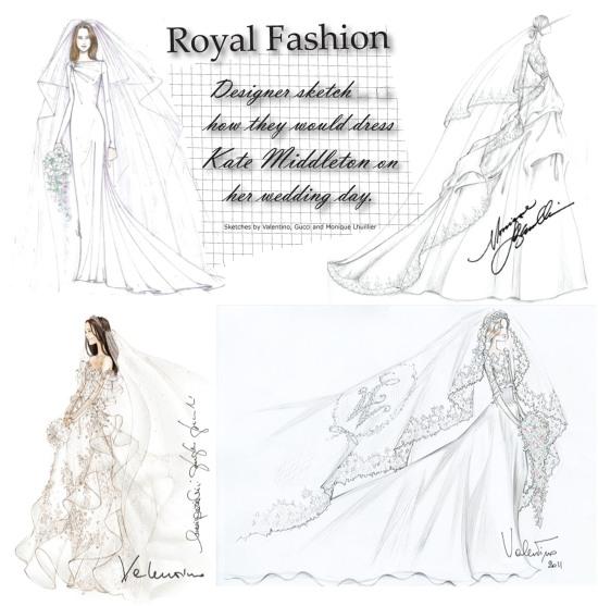 Kate Middleton wedding Dress Designer Ideas
