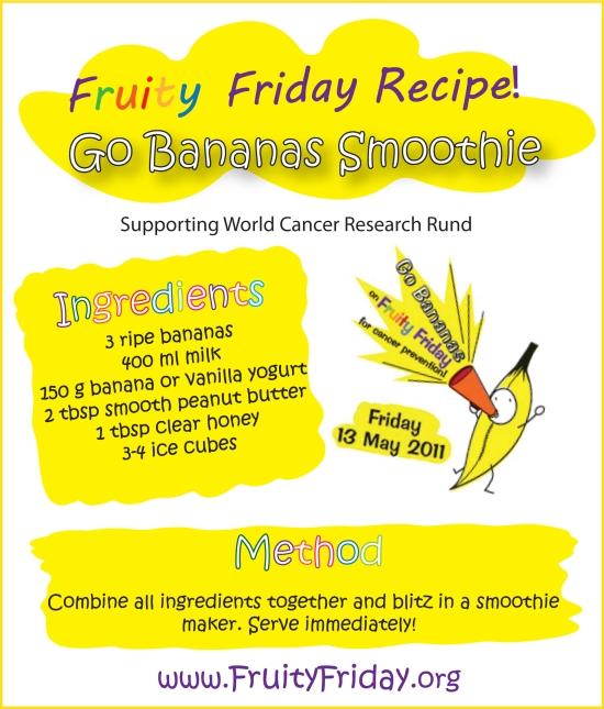 Fruity Friday Smoothie Recipe