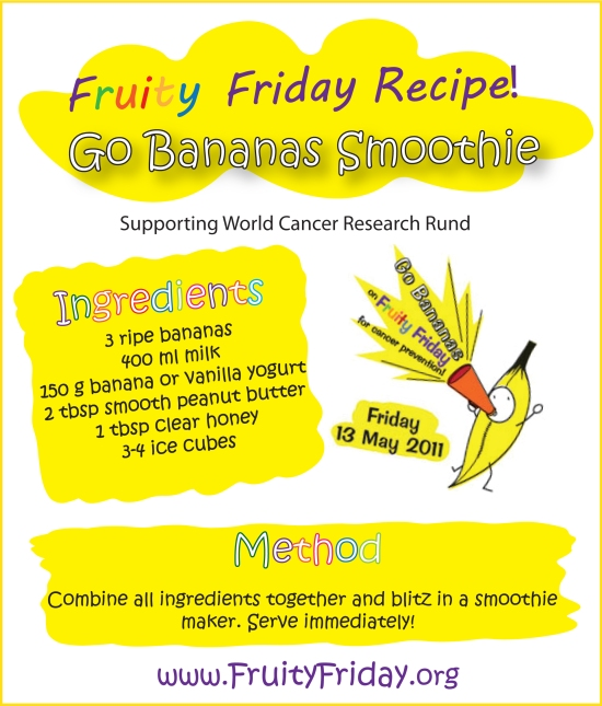 Fruity Friday Smoothie Recipe
