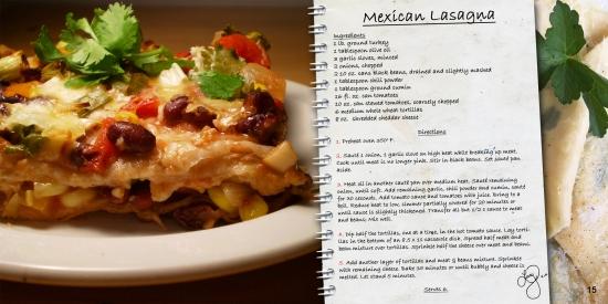 mexican lasanga recipe