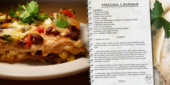 mexican lasanga recipe