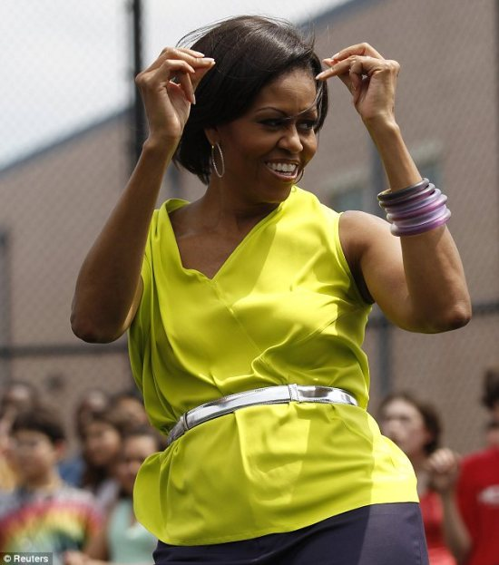 Michelle Obama Let's Move!