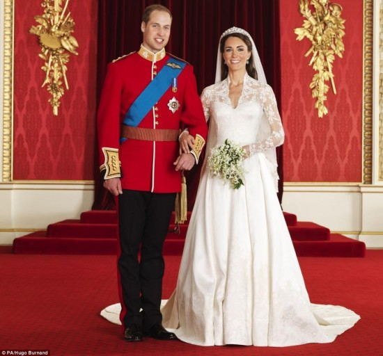 Offical Royal Wedding Photos Prince William and Kate