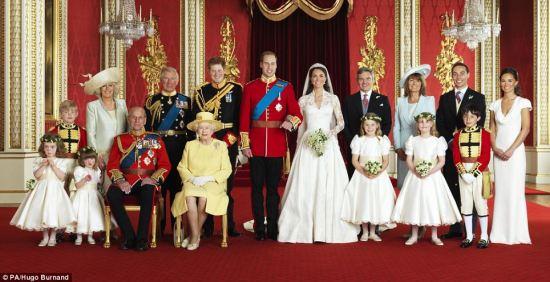 Official Royal Wedding Photos Family photo