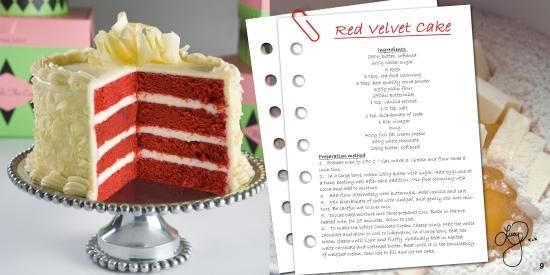 red velevet cake recipe