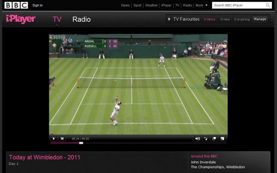bbc today at wimbledon