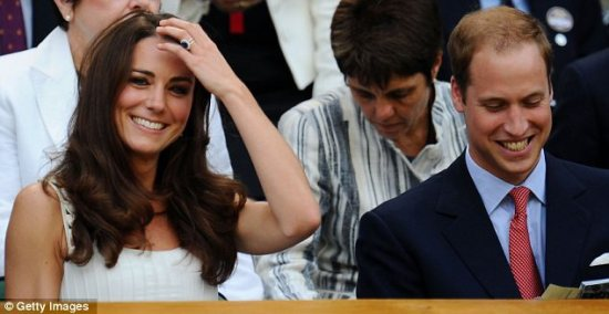 kate and will wimbeldon