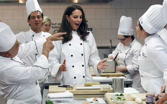 royal tour cooking in monteral