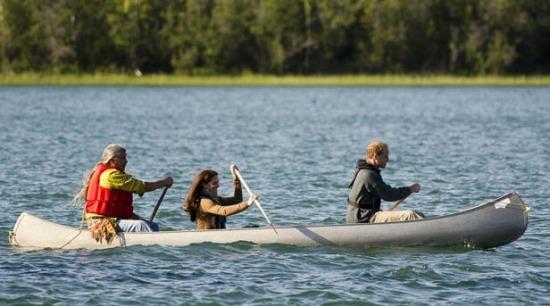 Royal Tour canada canoe