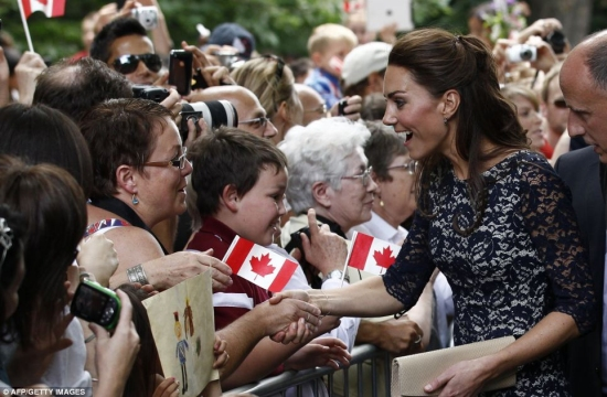 Kate Middleton Canada Day