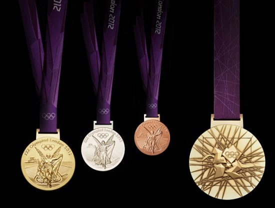 olympic 2012 medals David Watkins