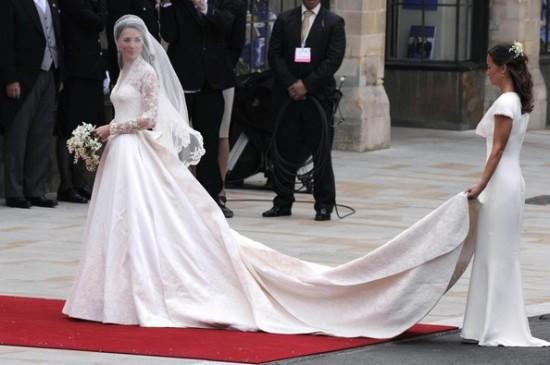 Royal Wedding Catherine arrives