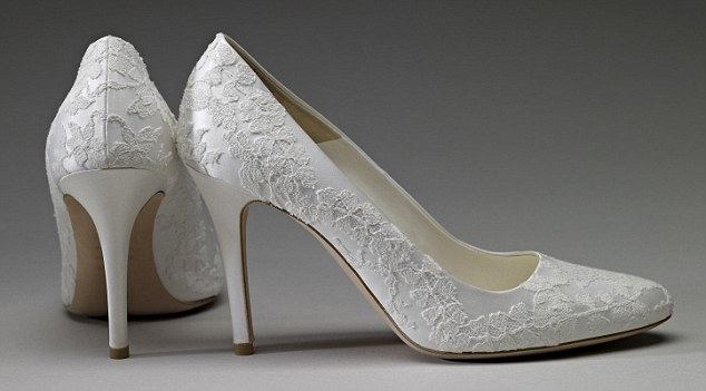 Duchess of Cambridge wedding shoes Even better the wedding cake