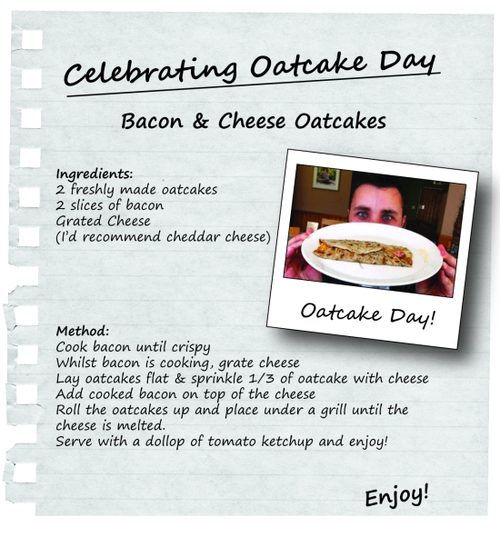 oatcake day recipe