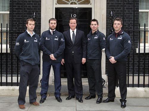 walking with the wounded with david cameron