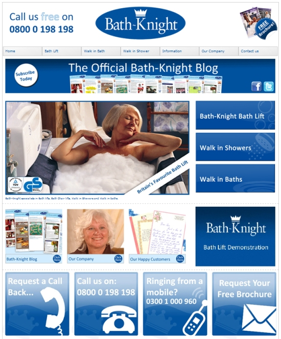 new bath-knight home page