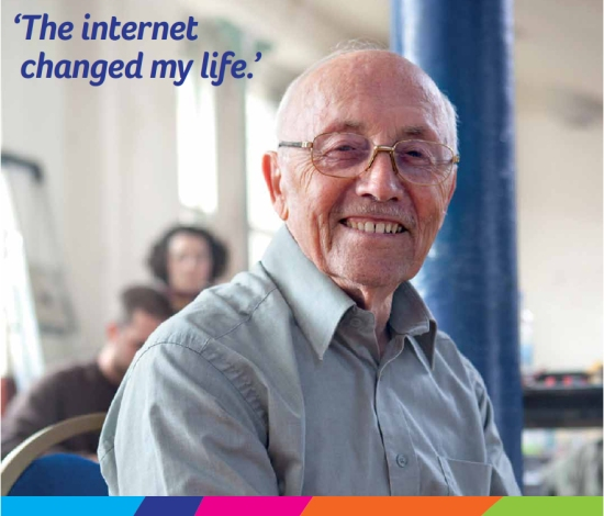 age uk the internet changed my life