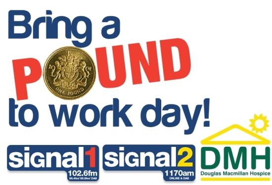 bring pound to work