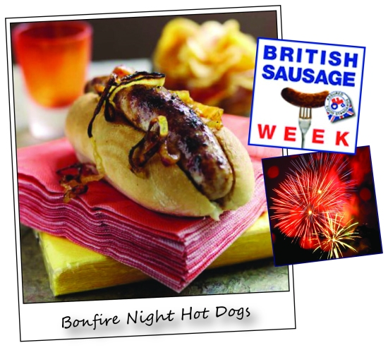 bonfire night hot dogs