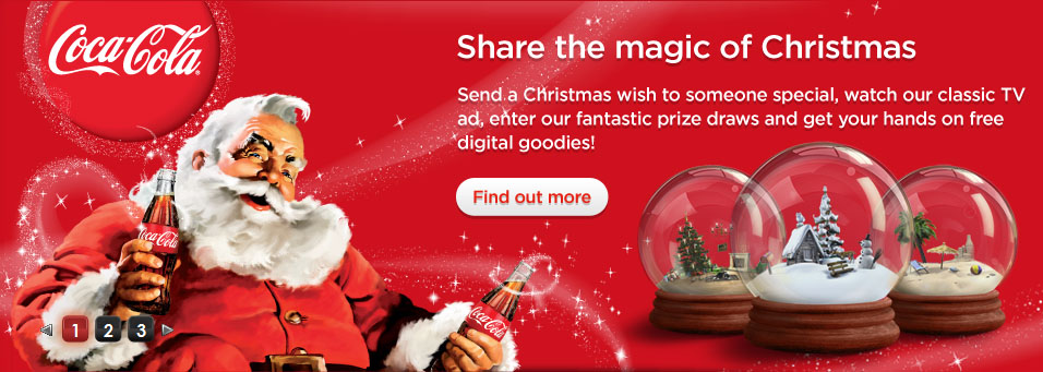 Coke Christmas Ads.Coca Cola Bath Knight Blog
