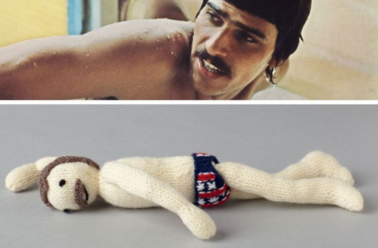 Mark Spitz Knitted
