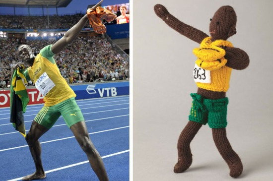 Usain Bolt Knitted