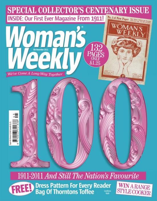 womans weekly 100 years