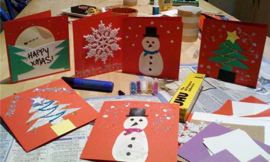 christmas craft cards
