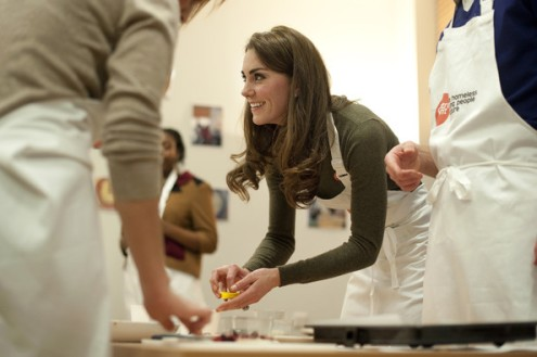 Duchess of Cambridge centrepoint