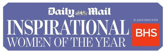 daily mail inspirational woman of the year logo