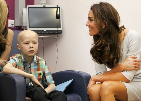 Duchess of Cambridge hospice visit