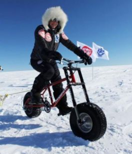 Skelton's charity polar trek