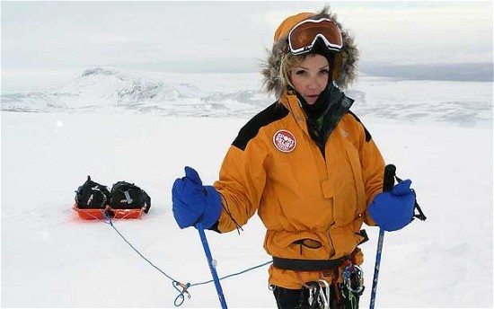 Helen Skelton south pole expedition