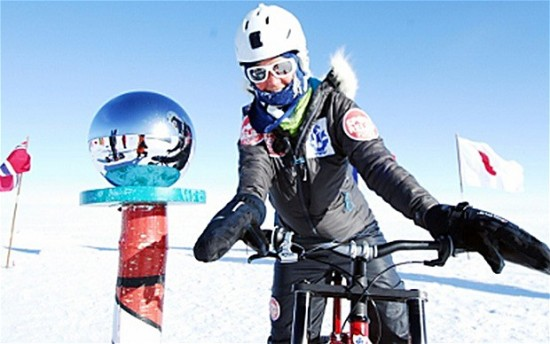 Helen Skelton South Pole