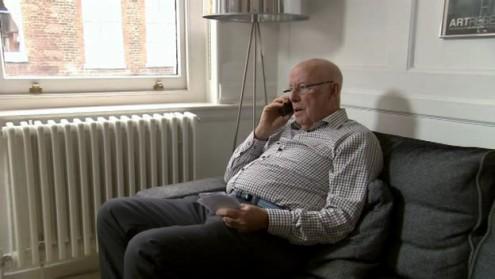 Richard Wilson on hold