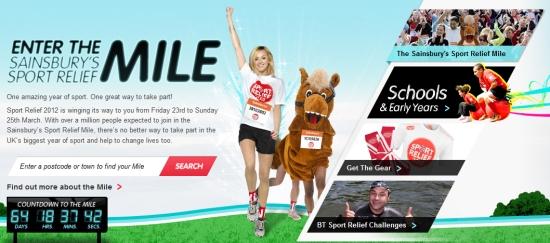 Sport Relief Mile