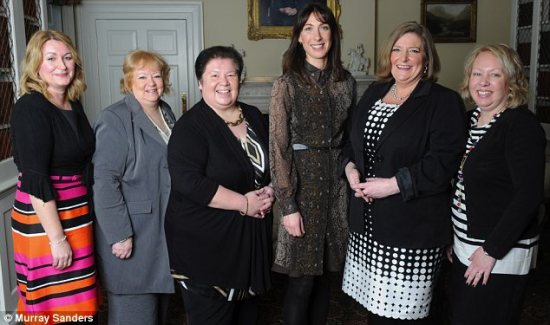 Women of the year with samantha cameron
