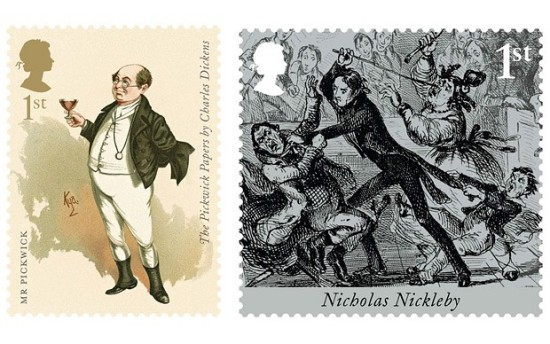 Charles Dicken Stamps