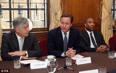 Summit- David Cameron, David Bernstein & John Barnes